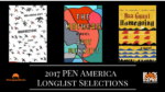 2017 PEN America Debut Author Long List Announced