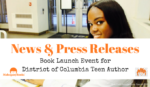 PRESS RELEASE: Book Launch Event for District of Columbia Teen Author Sasha Ariel Alston