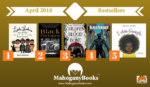 April 2018 MahoganyBooks Bestsellers