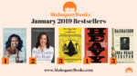 January 2019 MahoganyBooks Adult Bestsellers